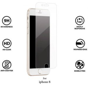Apple iPhone 8 Tempered Glass Screen Guard