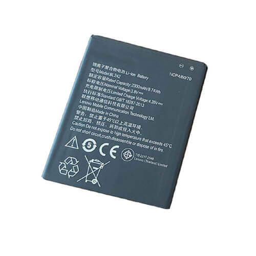 Original Lenovo A6000 Plus Battery Replacement BL242 2300mAh