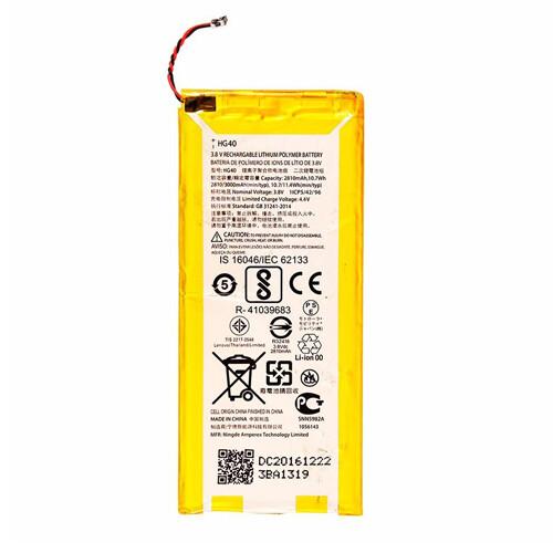 Original Motorola Moto G5 Plus Battery Replacement 3000mAh HG40