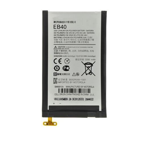 Original Motorola Moto Maxx Battery Replacement 3900mAh EB40