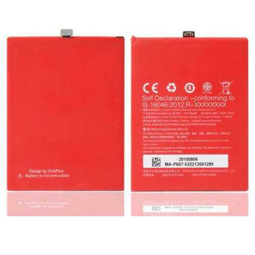 Original OnePlus X Battery Replacement 2525mAh BLP607