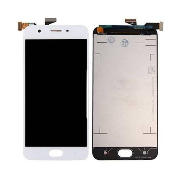 Original Oppo A57 display and touch screen replacement white price in chennai india CPH1701