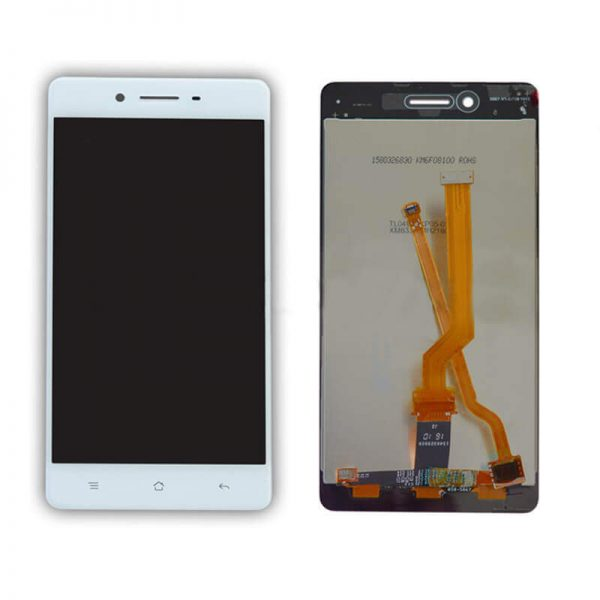 Original Oppo F1 display and touch screen replacement white price in chennai india