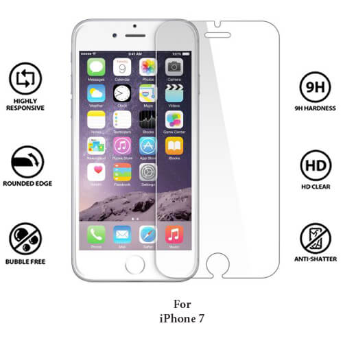 Apple iPhone 7 Tempered Glass Screen Guard