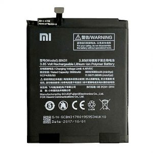 Original Xiaomi Mi A1 Battery Replacment BN31