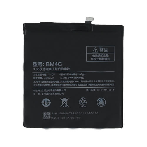 Original Xiaomi Mi Mix Battery Replacment 4400mAh BM4C