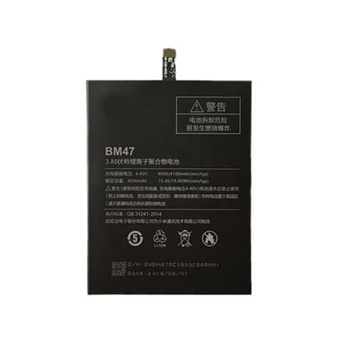 Original Xiaomi Redmi 3 Battery Replacment 4100mAh BM47