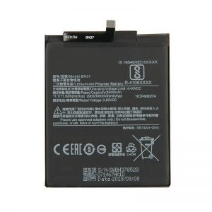 Original Xiaomi Redmi 6 Battery Replacment BN37