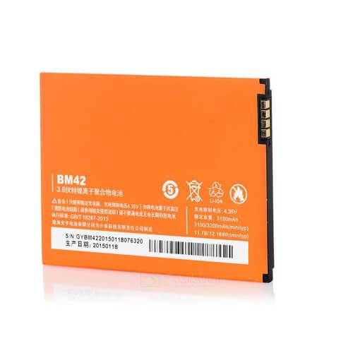 Original Xiaomi Redmi Note Prime Battery Replacment 3100mAh BM42