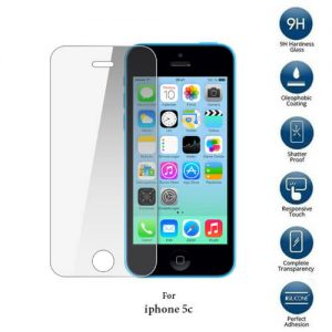Apple iPhone 5c tempered glass screen protector