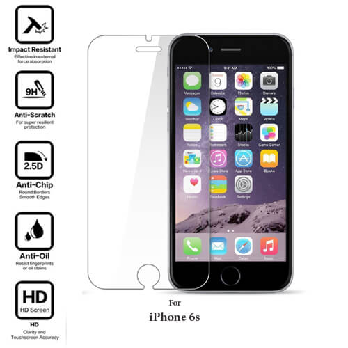 iPhone 6s Tempered Glass Screen Guard