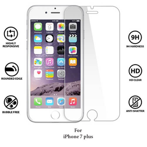 iPhone 7 Plus Tempered Glass Screen Guard