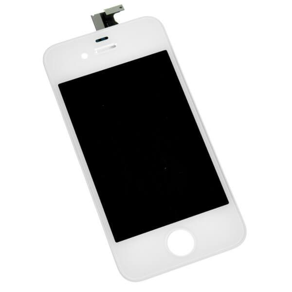 original apple iphone 4 lcd display and touch screen replacement combo white
