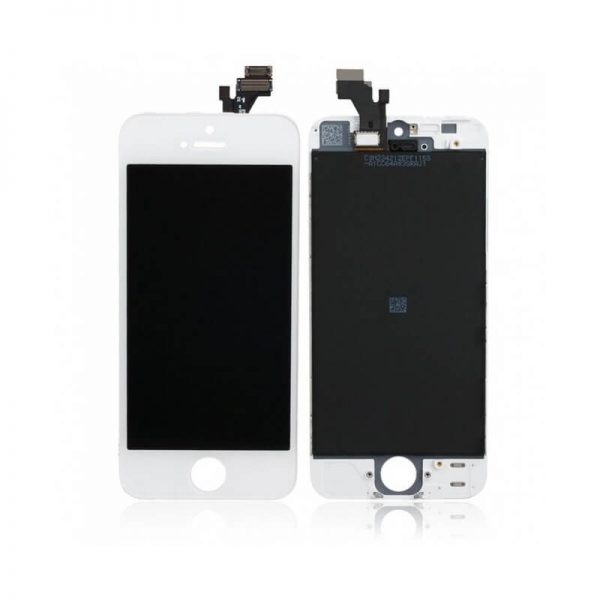 original apple iphone 5 lcd display and touch screen replacement combo white