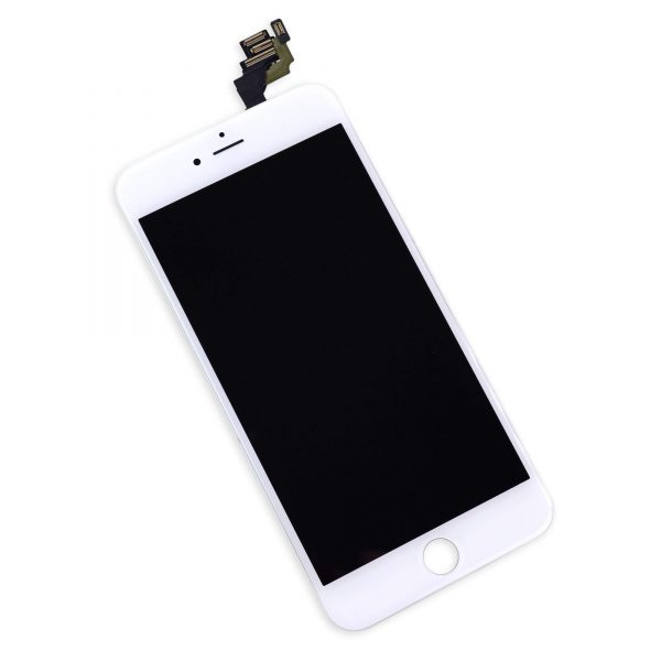 original apple iphone 6 plus lcd display and touch screen replacement combo white
