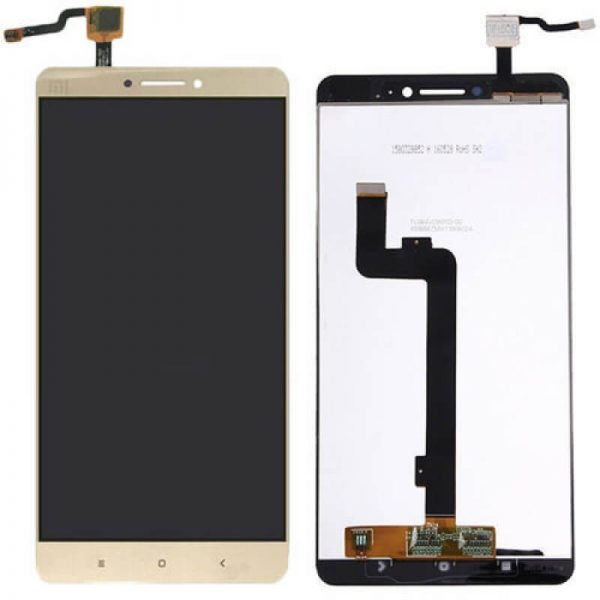 xiaomi mi max display and touch screen replacement gold