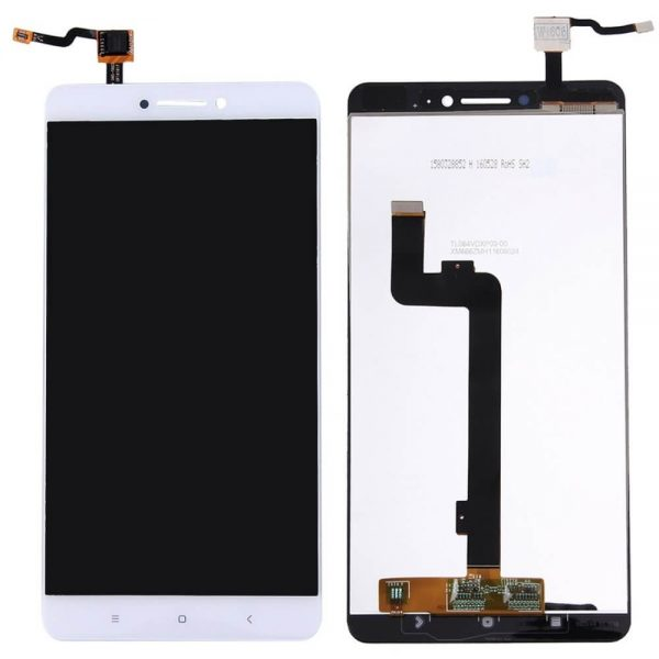 xiaomi mi max display and touch screen replacement white