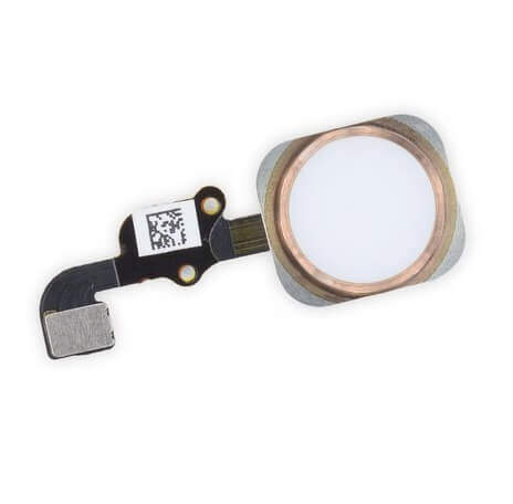 Apple iPhone 6s Plus Home Button Replacement Cost Original - Rose Gold