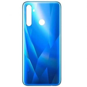 Original Realme 5s Back Panel Housing Replacement - Blue