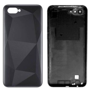 Original Realme C2 Back Panel Housing Replacement - Black