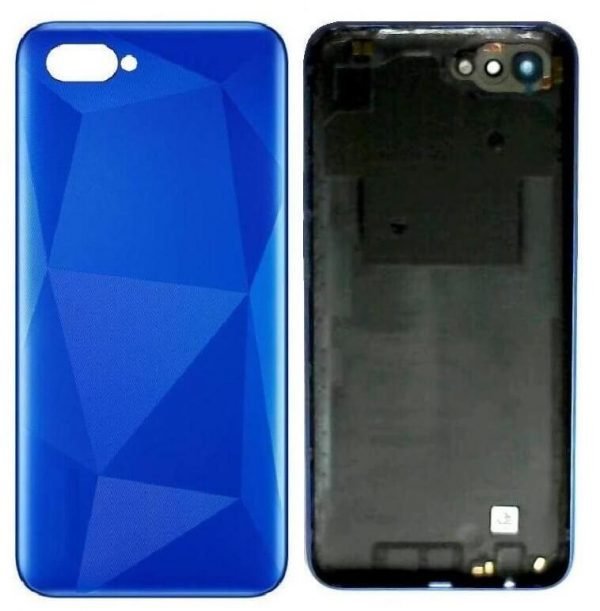 Original Realme C2 Back Panel Housing Replacement - Blue
