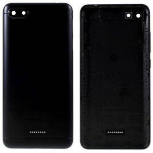 Xiaomi Redmi 6A Back Panel Replacement Black