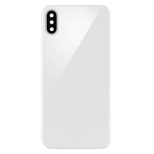 iPhone X Back Panel Replacement - Silver