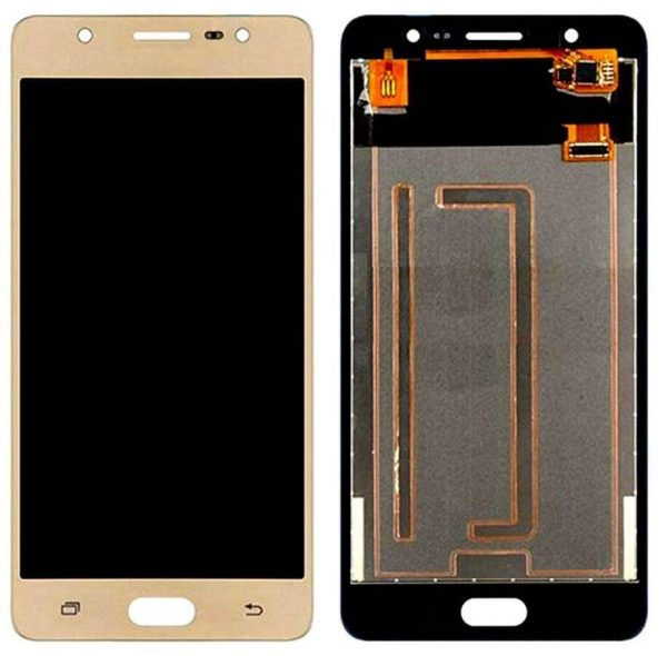 Samsung Galaxy J7 Max Display and Touch Screen Combo Replacement Original (SM-G615F) - Gold