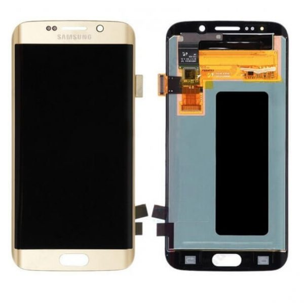 Samsung Galaxy S6 Edge Display and Touch Screen Combo Replacement Original (SM-G925I) - Gold