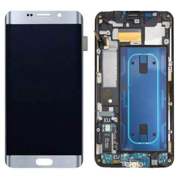 Samsung Galaxy S6 Edge Plus Display and Touch Screen Combo Replacement Original (SM-G928G) - Silver