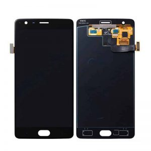 OnePlus 3 Display and Touch Screen Combo Replacement in India Black (A3003, A3000, SM-A3000)