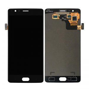 OnePlus 3T Display and Touch Screen Combo Replacement in India Black (A3010)
