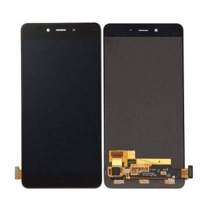 OnePlus X Display and Touch Screen Combo Replacement in India Black (ONE E1003)