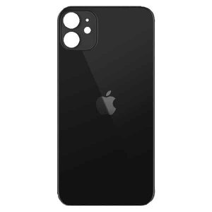 Apple iPhone 11 Back Glass Rear Glass Back Cover Replacement - Black