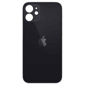 Apple iPhone 12 Back Glass Rear Glass Back Cover Replacement - Black