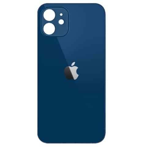 Apple iPhone 12 Mini Back Glass Rear Glass Back Cover Replacement - Blue