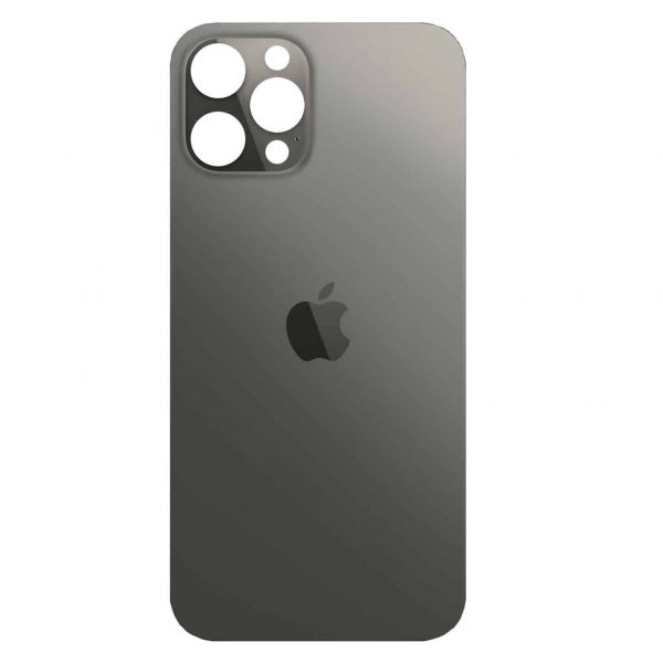 Apple iPhone 12 Pro Back Glass Rear Glass Back Cover Replacement - Graphite
