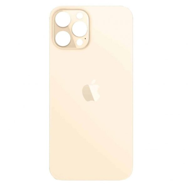 Apple iPhone 12 Pro Max Back Glass Rear Glass Back Cover Replacement - Gold