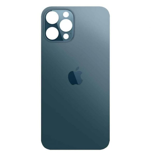Apple iPhone 12 Pro Max Back Glass Rear Glass Back Cover Replacement - Pacific Blue