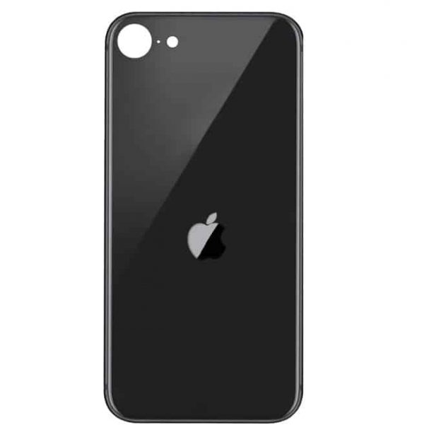 Apple iPhone SE (2020) Back Glass Rear Glass Back Cover Replacement - Black