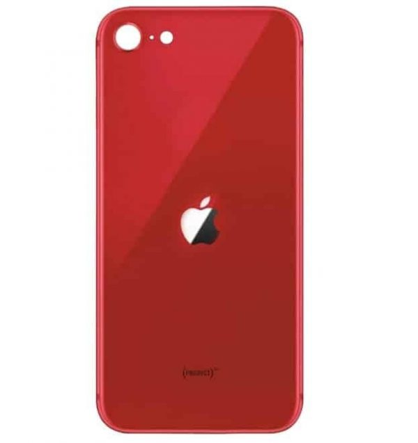 Apple iPhone SE (2020) Back Glass Rear Glass Back Cover Replacement - Red