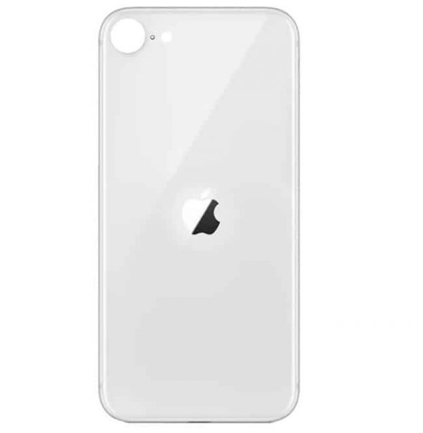 Apple iPhone SE (2020) Back Glass Rear Glass Back Cover Replacement - White