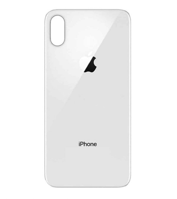 Apple iPhone X Back Glass Rear Glass Back Cover Replacement - White