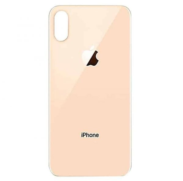 Apple iPhone Xs Back Glass Rear Glass Back Cover Replacement - Gold