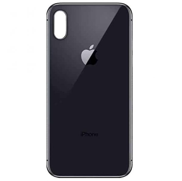 Apple iPhone Xs Back Glass Rear Glass Back Cover Replacement - Space Gray
