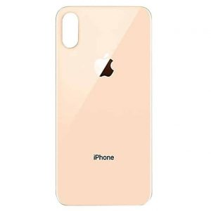 Apple iPhone Xs Max Back Glass Rear Glass Back Cover Replacement - Gold