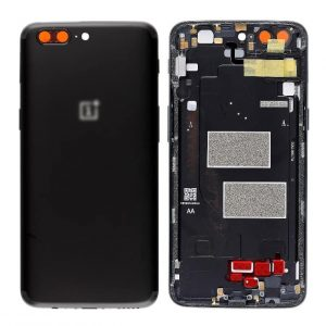 OnePlus 5 Back Panel Replacement in India Chennai Battery Cover - Midnight Black