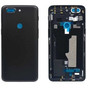 OnePlus 5T Back Panel Replacement in India Chennai Battery Cover - Midnight Black