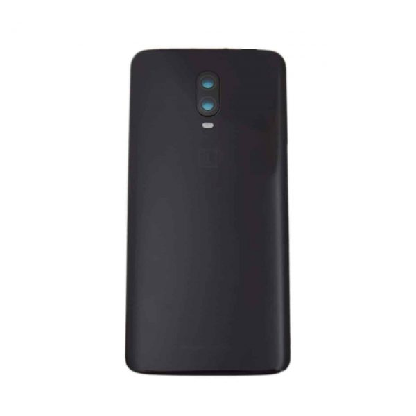 OnePlus 6T Back Panel Replacement in India Chennai Battery Cover Midnight Black