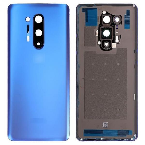 OnePlus 8 Pro Back Panel Replacement in India Chennai Battery Cover - Ultramarine Blue
